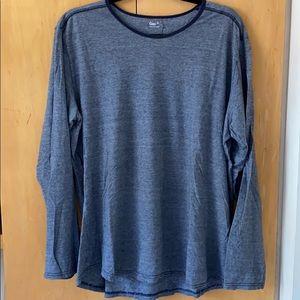 GAP Men's Long Sleeve Shirt Blue XL